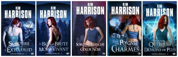 Aventures de Rachel Morgan par Kim Harrison