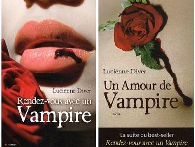 saga des vampires de Lucienne Diver