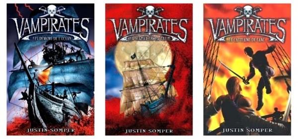 Vampirates de Justin Somper