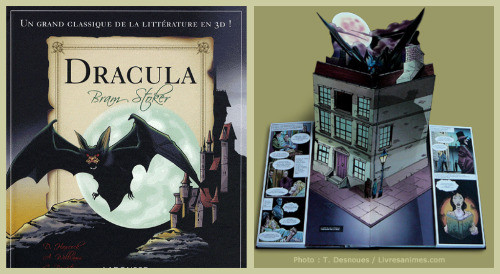 Dracula par Bram Stoker, David Hawcock, et Francine Sirven