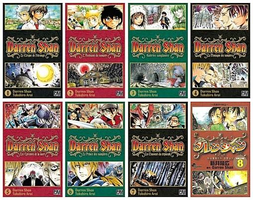 darren shan (manga)