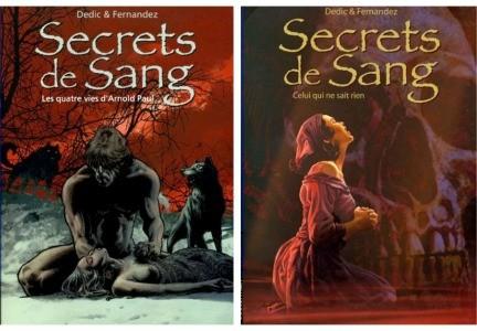 Secrets de sang de Igor DEDIC & Jean-Paul FERNANDEZ