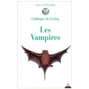 Les Vampires par Colloque De Cerisy