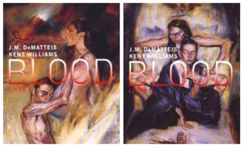 Blood de Kent Williams et Jean Michel De Matteis