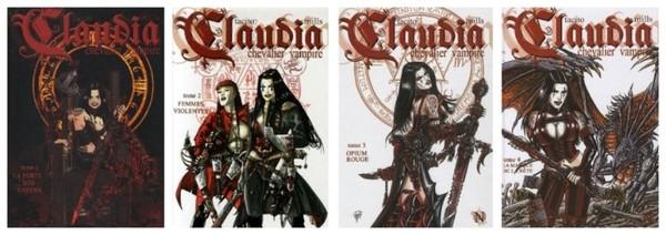 Claudia, chevalier vampire (BD)