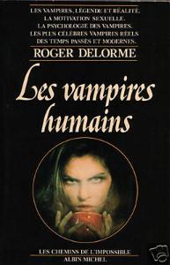 Les vampires humains de Roger Delorme