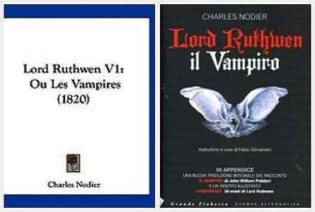 Lord Ruthwen ou les Vampires de Charles NODIER (1820)