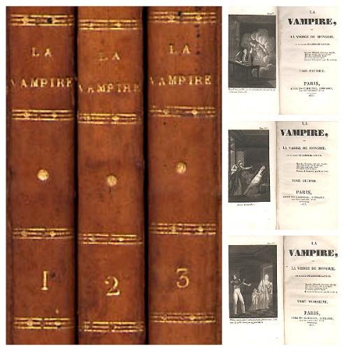 La vampire ou la vierge de Hongrie de Lamothe-Langon