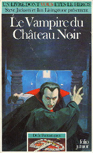 Le Vampire du Château Noir / Défis fantastique, numéro 35