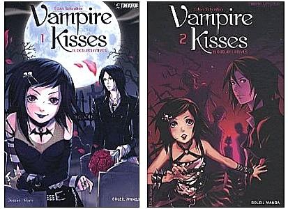 Vampire kisses par Ellen Schreiber