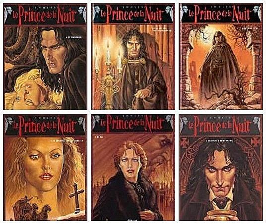 Le prince de la nuit de Swolfs (bd)