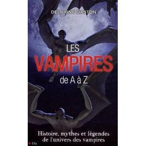 Les vampires de A à Z par Delphine Gaston