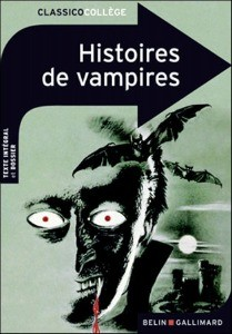 Histoires de vampires De Chomienne Marianne