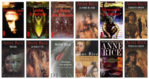 CHRONIQUES DE VAMPIRES d´Anne Rice