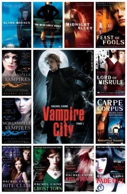 Morganville / vampire city de Rachel Caine