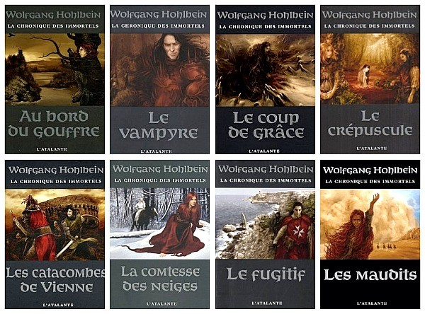 Chronique des immortels de Wolfgang Hohlbein