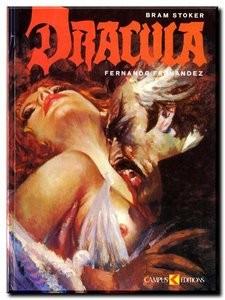 Dracula par Fernando Fernandez (1985) BD