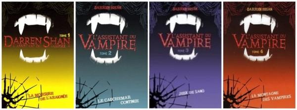L'assistant du vampire de Darren Shan