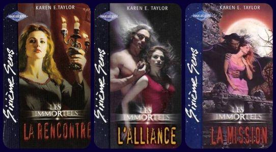 Les immortels De Karen E. Taylor