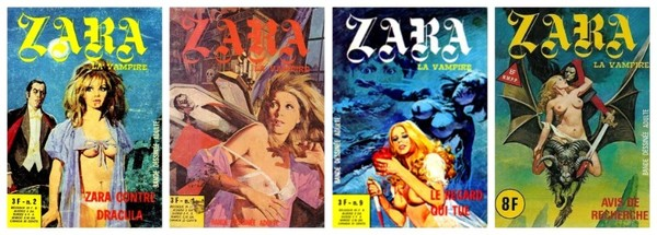 Zara la vampire (bd adulte)