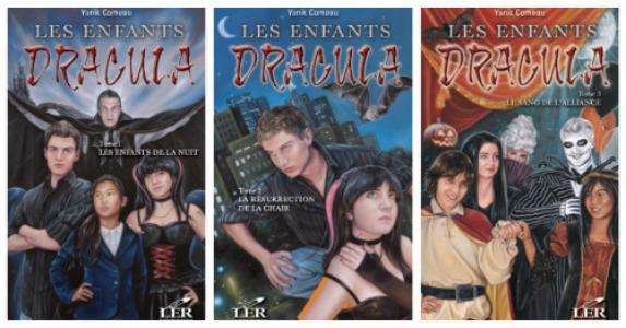 Les enfants Dracula Tome 1 Les enfants de la nuit - Yanik Comeau
